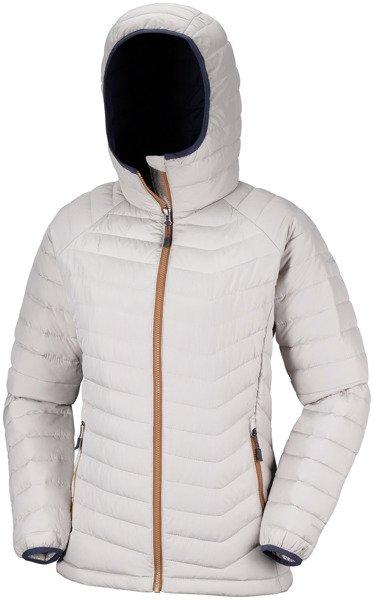 7f8e954066575 Kurtka zimowa damska Columbia Powder Lite Hooded Jacket - Dla niej ...  kurtka damska