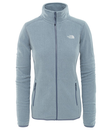 Polar damski The North Face 100 Glacier Full Zip