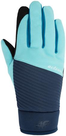 Rękawiczki damskie 4F H4Z17-RED002